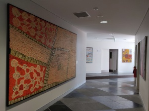Indigenous art in building