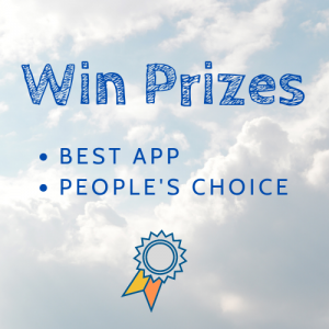 Win prizes: Best app; People's choice